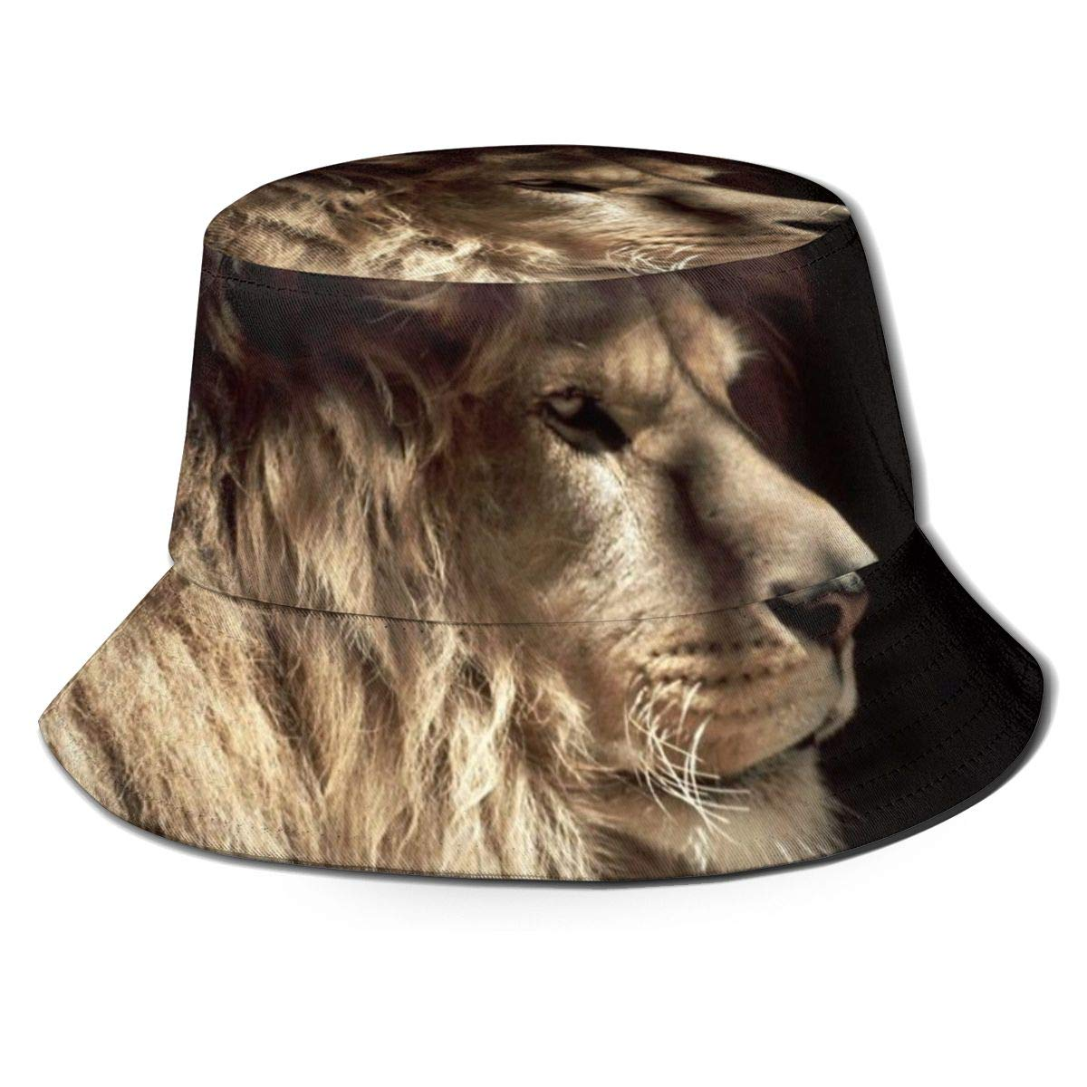 Unisex 100/% Polyester Lion Baseball Cap Stretch Snapback Hat for Unisex