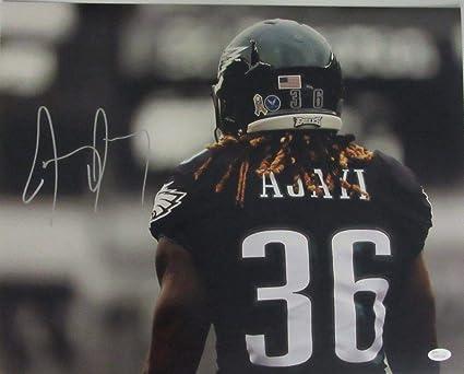 Jay Ajayi Philadelphia Eagles Autographed Signed Autograph 16x20 Photo  Sports Memorabilia JSA 135536 4b3d74ad5