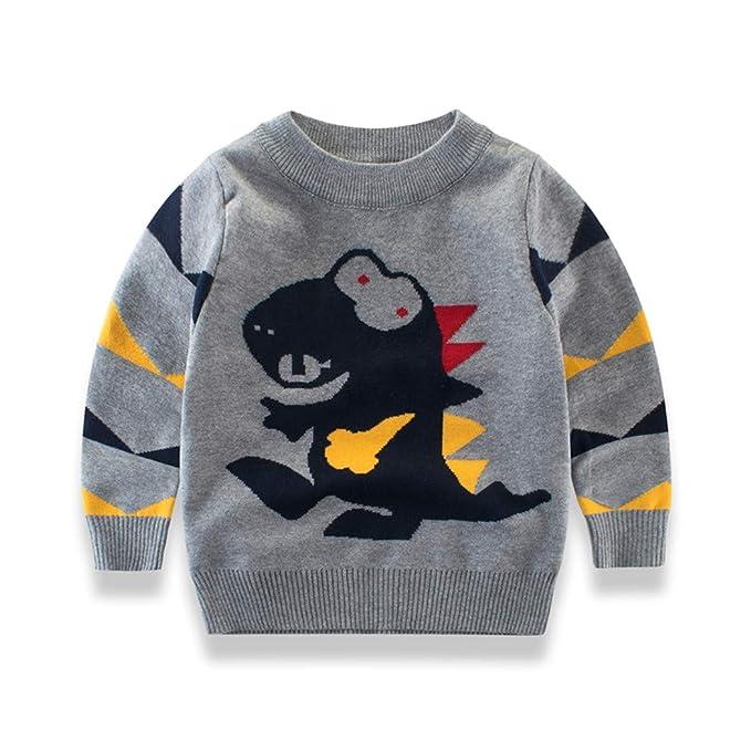 Amazon.com Youland Sweaters Kids Boys Casual Cartoon