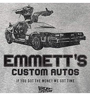 Emmetts Custom Autos cotton division T-Shirt Retour vers Le Futur