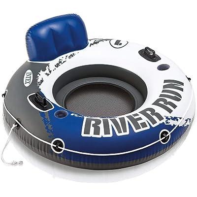 Intex 58825EU - Rueda hinchable River Run 135 cm diámetro azul