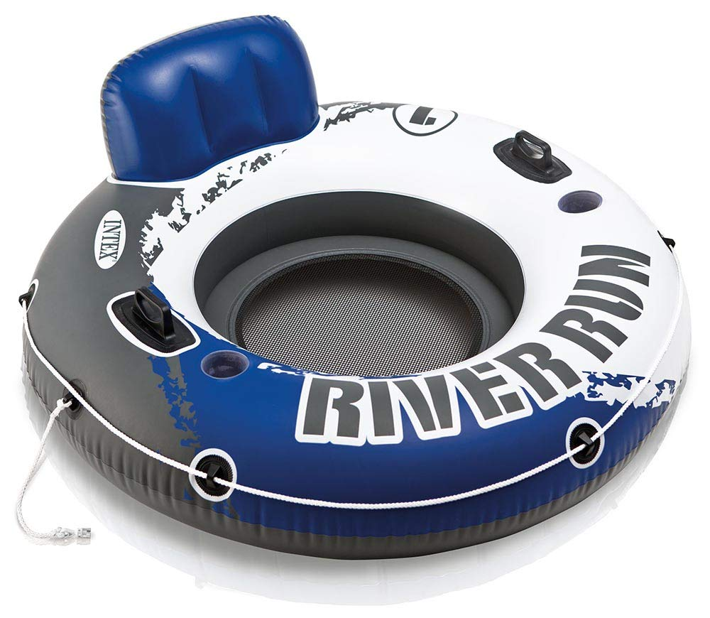 Intex River Run I Sport Lounge, Inflatable Water Float, 53'' Diameter by Intex