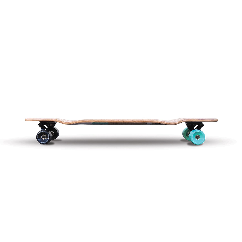 36 to 38 inch SOLA Bamboo Premium graphic design Complete longboard Skateboard