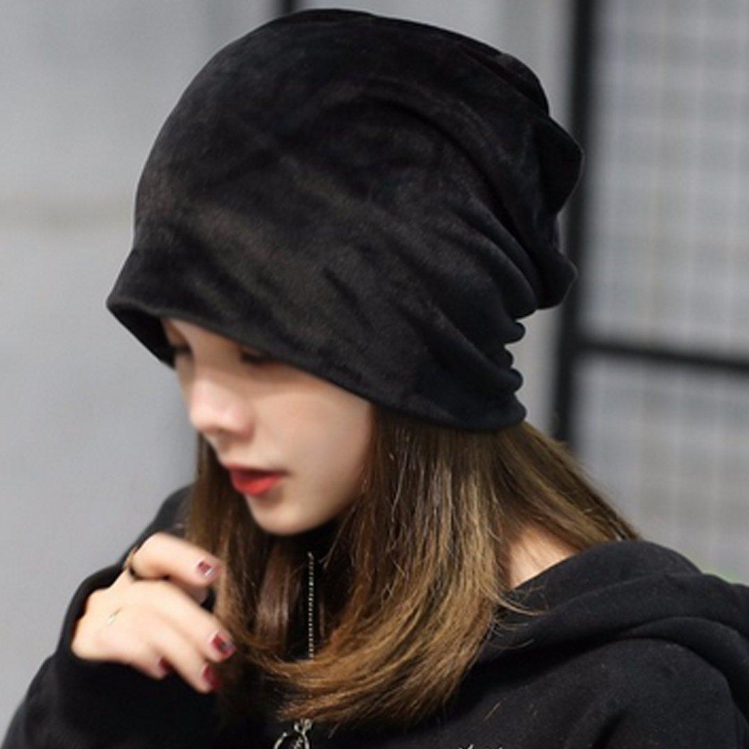ca65041ab86 AiSi Womens Winter Warm Slouchy Beanie Hat Velvet Baggy Soft Skull ...