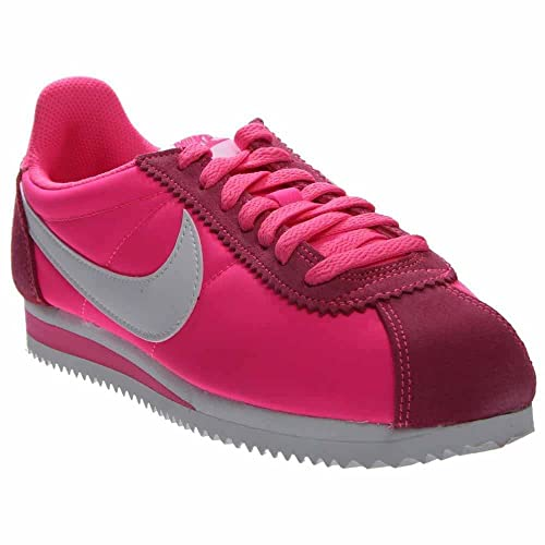 finest selection 7b297 d2ca8 ... coupon code nike damen wmns classic cortez nylon turnschuhe rosa pink  blast white b6566 437f8