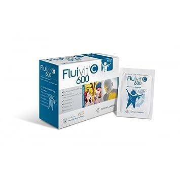 Amazon.com: fluivit C 600 Suplemento dietético 14 bolsitas ...