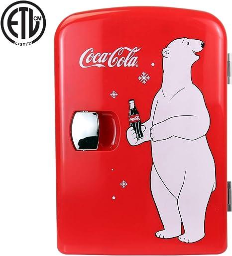 Coca Cola KWC 4 4 Liter 6 Can Portable Fridge