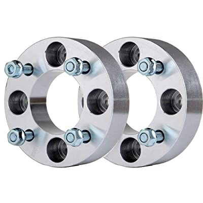 OCPTY Replacement Parts Compatible with 2X 1.5 38mm Thick 4x110 to 4x110 with 10x1.25 Studs Wheel spacers fit 2000-2006 Honda Rancher 350: Automotive