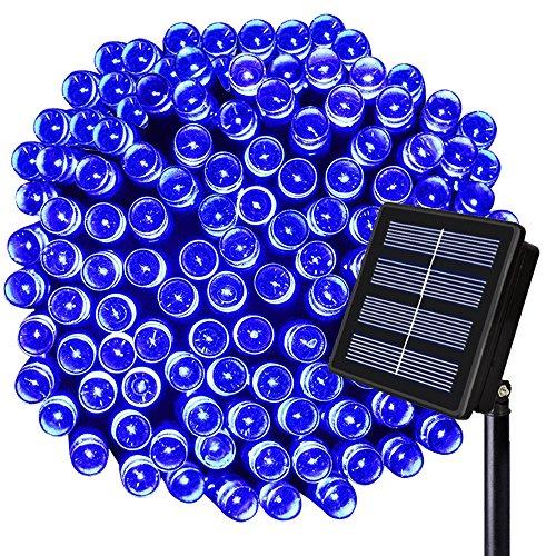 solar lights outdoor blue - 8