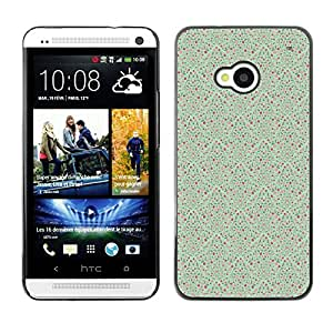 ZECASE Funda Carcasa Tapa Case Cover Para HTC One M7 No.0000646
