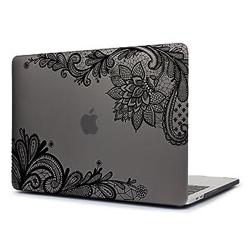 Funda MacBook Pro 15, TwoL Ultra Slim Plástico Funda Dura Carcasa para MacBook Pro 15,4 Pulgadas A1286 (Encaje Gris)