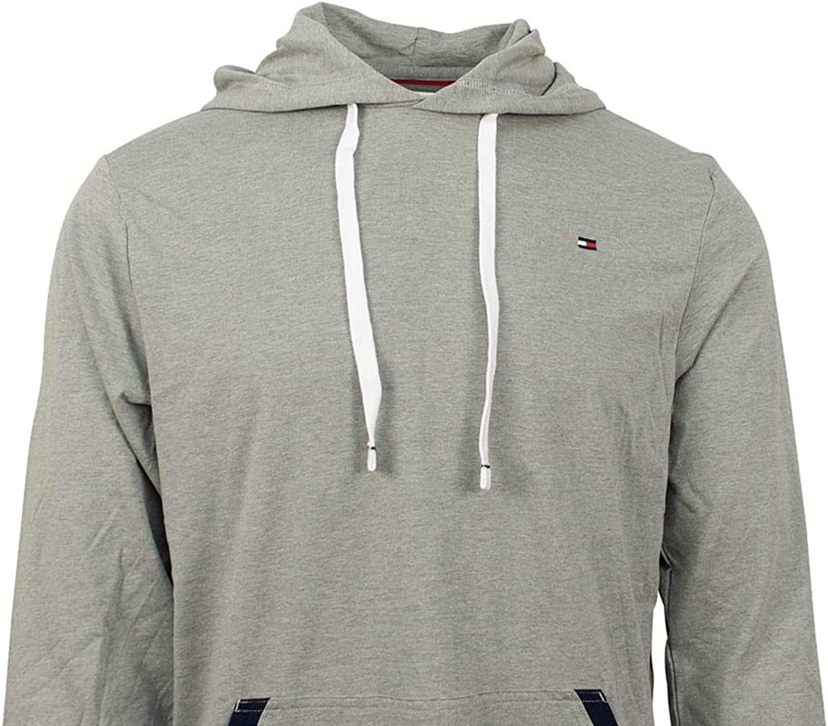 Tommy Hilfiger Mens Light Weight Long Sleeve Hoodie Shirt