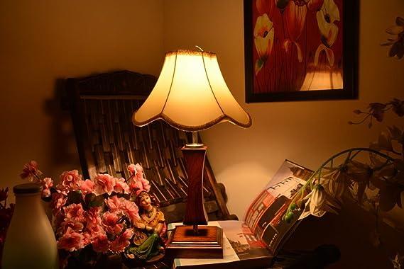YASHASVI Lotus Wooden LAMP