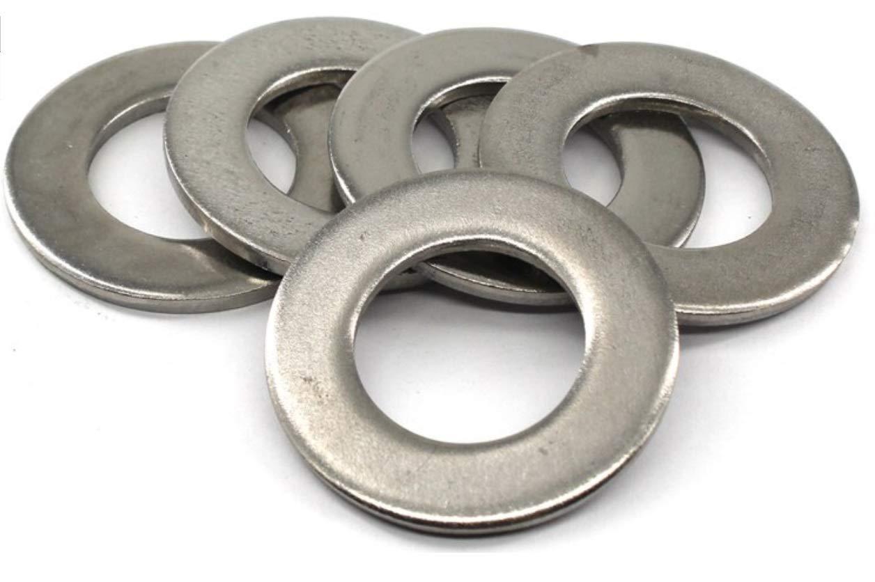 V2A Arandelas de sujeci/ón seg/ún DIN 125A 100 arandelas de acero inoxidable M4