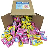 Nerds Candy - Wonka Nerds Mini Boxes, Strawberry and Lemonade Wild Cherry Assortment, 4 LB Box Bulk Candy (Approx. 100 Mini Boxes)