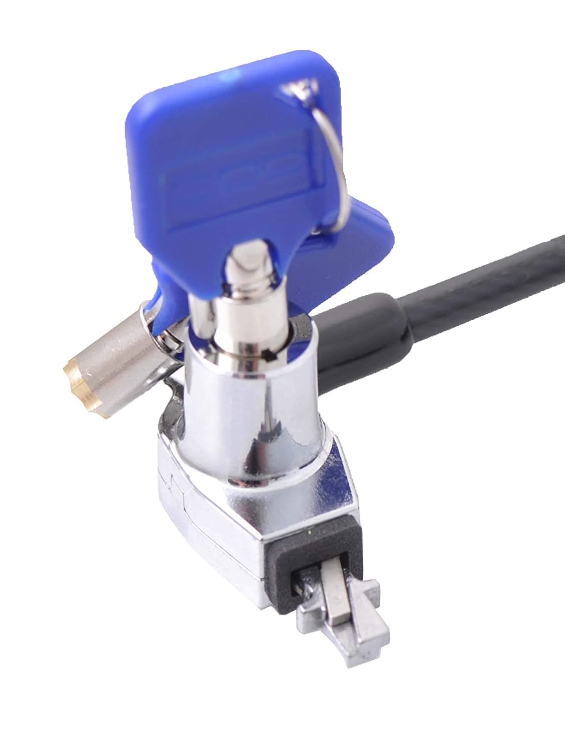 A02040 CODi Bilateral Key Cable Lock Keep Your Laptop Secure Through The Wedge Lock Slot