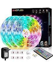 LED strip lichtstrip SHOPLED RGB SMD 5050 LED strips zelfklevend