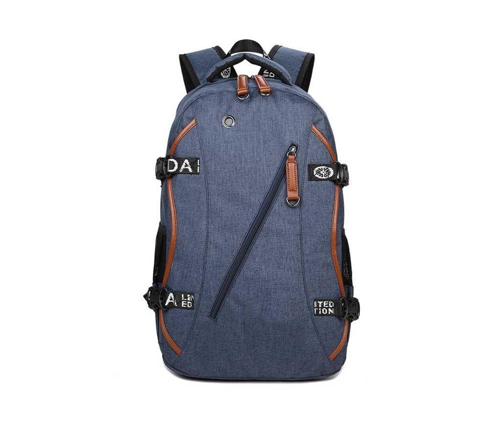 レディースレザーバックパック メンズバックパック/アウトドア防水トラベルバッグ/ラップトップバッグ/オックスフォードクロスバックパック ガールズスクールバッグ   B07K8HV7C3