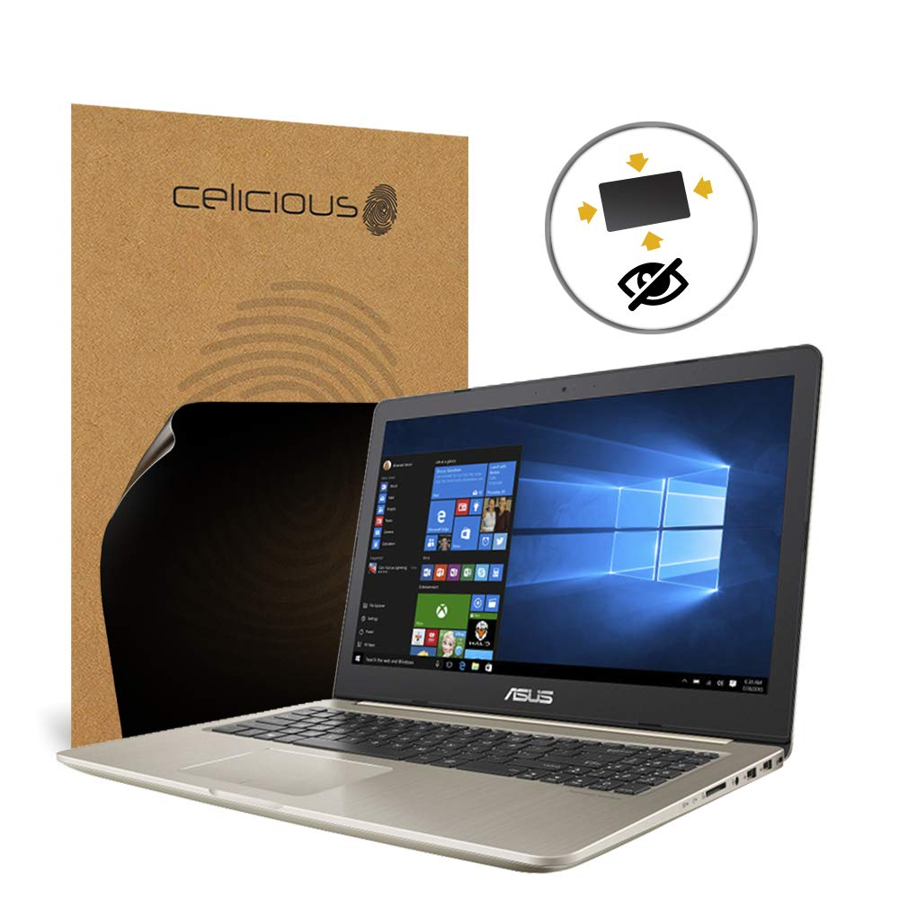 Celicious Privacy Plus 4-Way Anti-Spy Filter Screen Protector Film Compatible with ASUS VivoBook Pro 15 N580 (Touch)