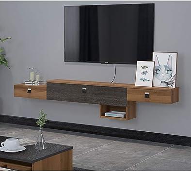 Mueble TV de Pared con Cajon Estante de la Pared Estante Flotante ...