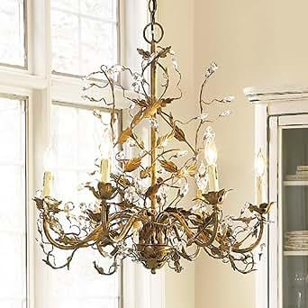 Claire 6 arm grande chandelier antique silver ballard designs claire 6 arm grande chandelier antique silver ballard designs aloadofball Images