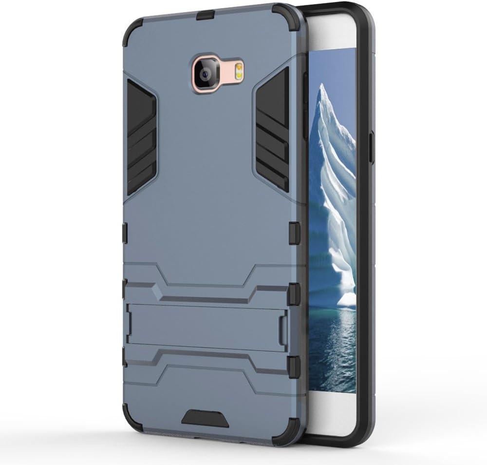 MyCase Funda híbrida Samsung Galaxy C9 Pro Silicona | Azul | Protección: Amazon.es: Electrónica