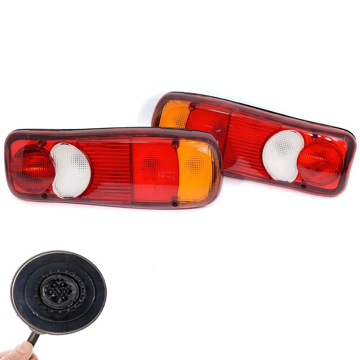 Pair Right /& Left Rear Tail Stop Light Lamp