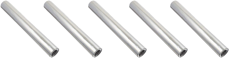 St. Louis Crafts 12 X10' 36GA ALM Foil Sheet Roll, 12 x 120 Size, 36 Gauge, Aluminum (2-Pack) 12 x 120 Size