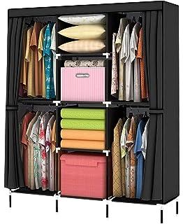 YOUUD Wardrobe Storage Closet Clothes Portable Wardrobe Storage Closet  Portable Closet Organizer Portable Closets Wardrobe Closet