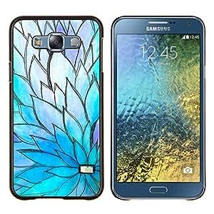 Eason Shop / Premium SLIM PC / Aliminium Casa Carcasa Funda Case Bandera Cover - Printemps - For Samsung Galaxy E7 E700