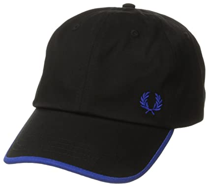 25410ca5bff Image Unavailable. Image not available for. Color  Fred Perry Men s Classic  Laurel Wreath Cap ...