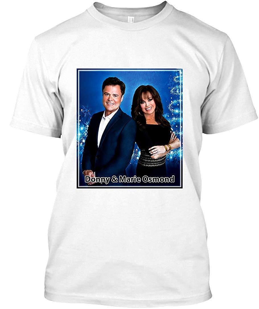 Donny And Marie Osmond Christmas Tour 2016 2017 80 Unisex T Shirt