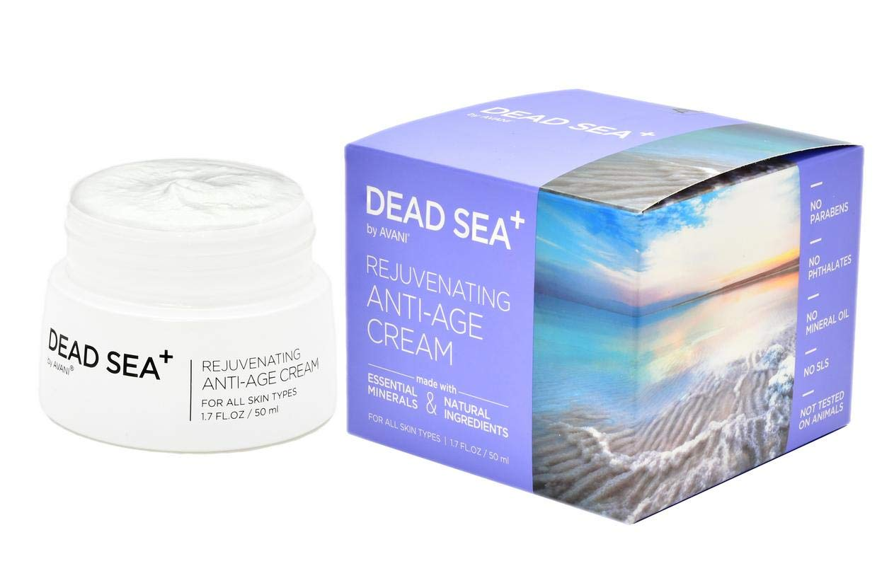 All natural day cream uses collagen and Dead Sea elements to make one look and feel younger