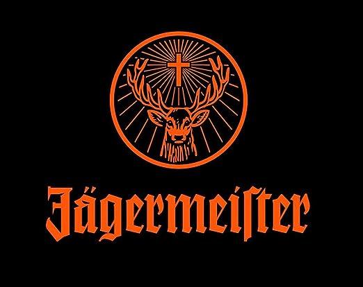 Jägermeister - Póster con diseño de anuncio de pared ...