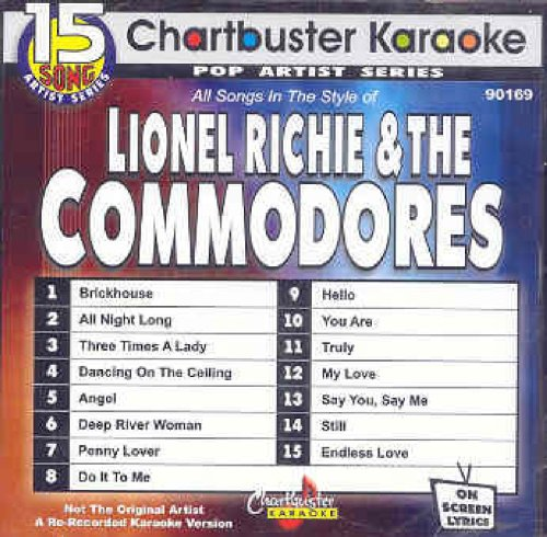 Lionel Richie Karaoke - Karaoke: Lionel Richie & Commodores 15 Song Prof