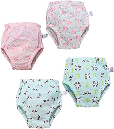 Kids Boys//Girls Cotton Pack-3 Leak Layers Protection Potty Training Pants1-4 yrs