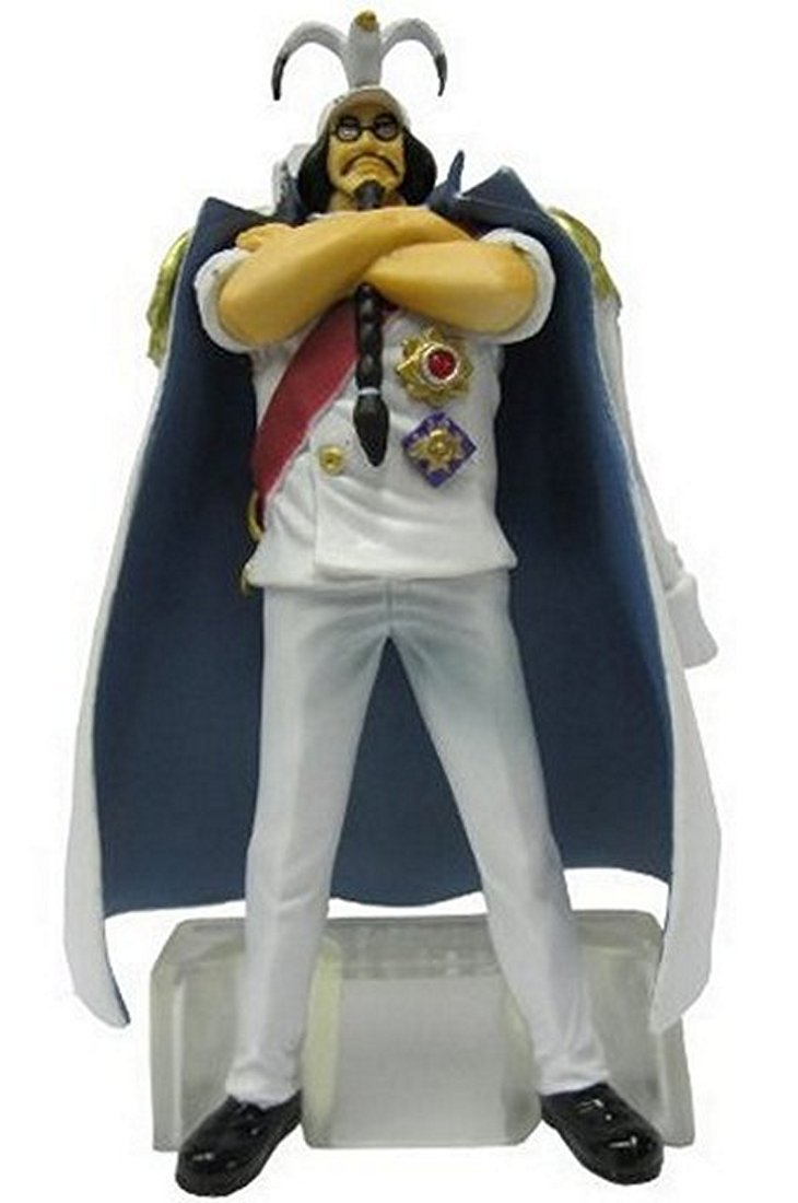 "One Piece Marine Absolute Justice Trading Figures With Base ~4"" - Fleet Admiral Sengoku"
