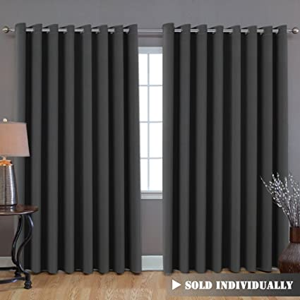HVersailtex Extra Long And Wide Blackout Curtains Thermal Insulated Premium Room Divider