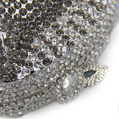 Mesdames main sac cadre mariage sac De métallique de fête et Strass Luxe de L'Europe B Pochette Cheval Favorite à l'Amérique soirée Pxnq7C4wg
