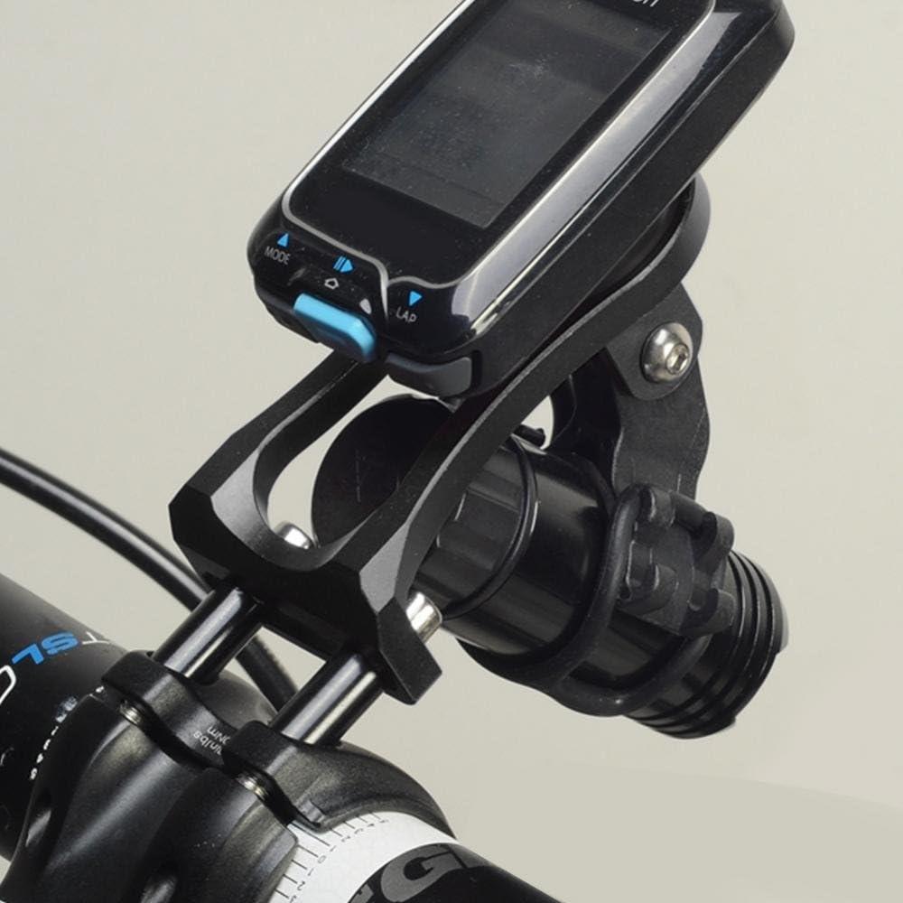 Alomejor Bike Computer Halterung Einstellbare Aluminiumlegierung Front Handy Halter Kamera Halterung Taschenlampe Halter Für Garmin Edge Gps Sport Freizeit
