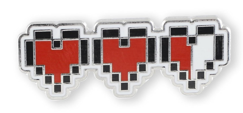 Pixel Heart Retro Video Game 8 Bit Life Meter