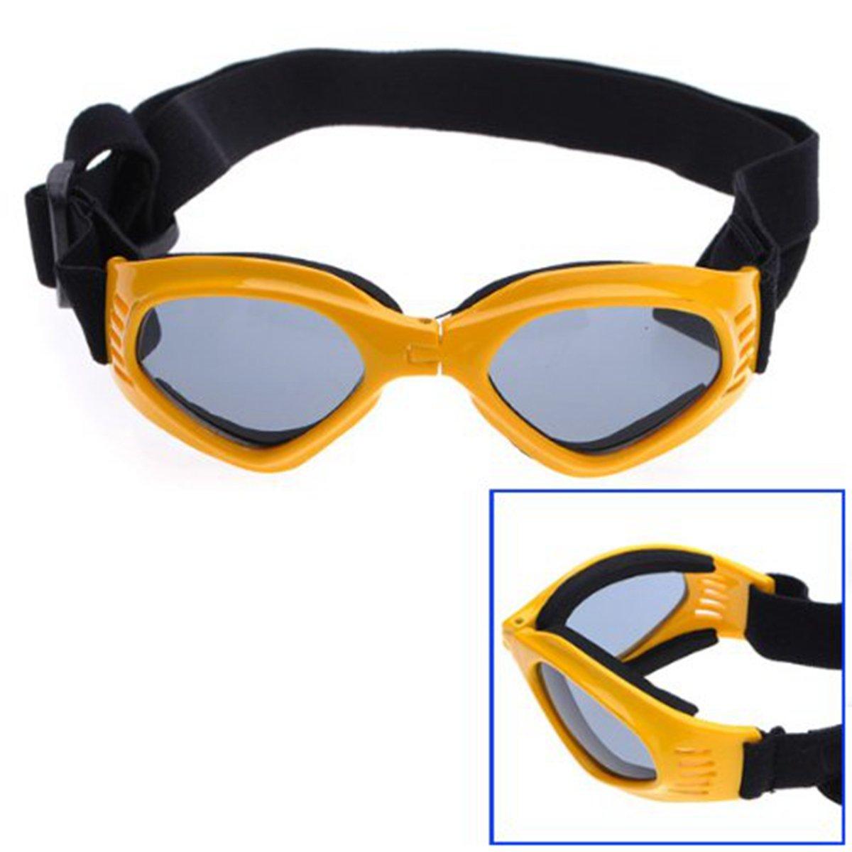 Homeking Gafas de Sol Protección UV Azules para Perros/Mascotas En Color Amarillo: Amazon.es: Hogar