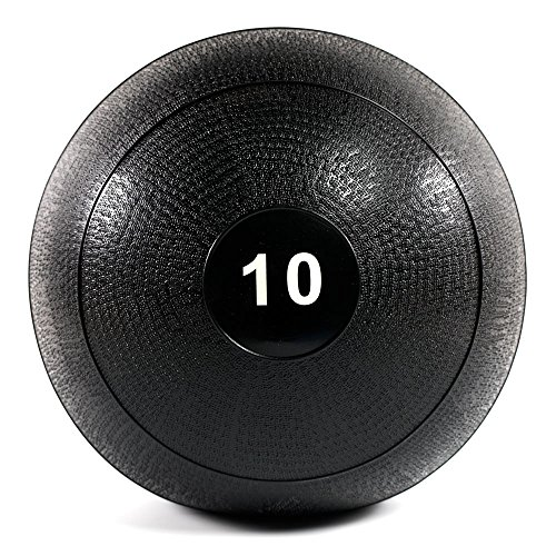 Power Systems MEGA Slam Ball for High Impact Throws and Slams, 10 Pounds, Black (25430)
