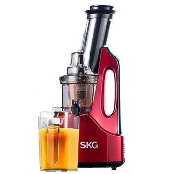 SKG Nueva Generación Amplio Chute Antioxidación Lenta Masticador Exprimidor (Motor AC de 240 W,