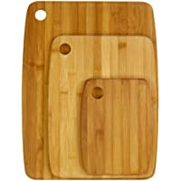 Secret de Gourmet - Lot de 3 planches en bambou