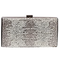 Pearl & Diamond Crystal Clutch Bags