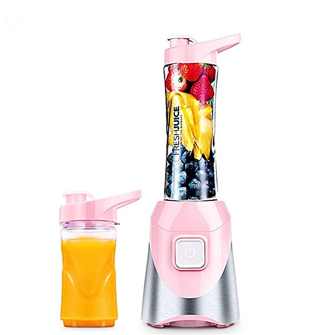 Compra Mini máquina de exprimidor de fruta, taza de jugo, acero inoxidable, completamente automático, máquina de mezcla de frutas portátil mezclador ...