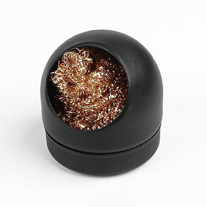 Sourcingmap a13071700ux0045 - Soldar la punta de hierro con bolas de esponja limpia la boquilla de