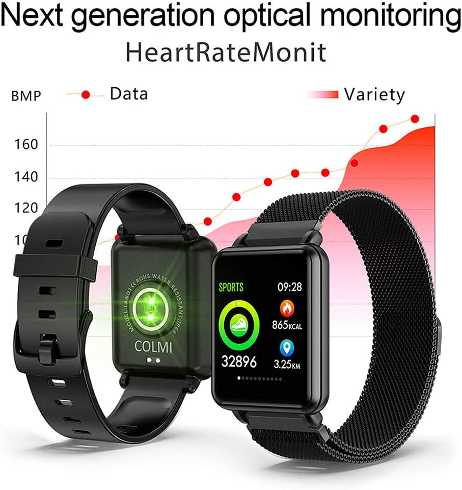 Smart Watch, L1 Fitness Tracker Reloj IP68 resistente al agua ...