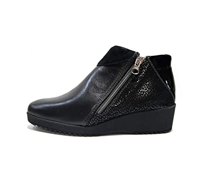 Melluso Scarpe Donna Sneaker in Pelle nera K90556 NERO